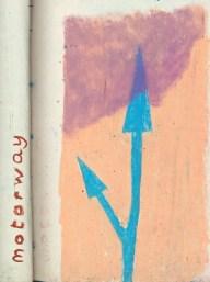 22 liverpool sketches 6, 1969, motorway II 1