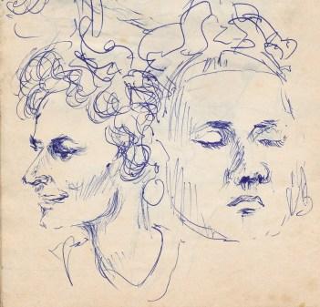 104 pestalozzi sketches - mrs cartlidge, marie claude