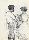 13 pestalozzi mr campbell, mrs morrison and housekeeper