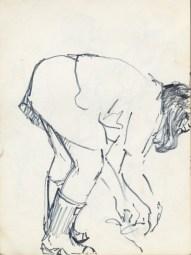 177 pestalozzi sketches - debbie gardening