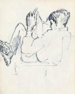 178 pestalozzi sketches - indian boy reading