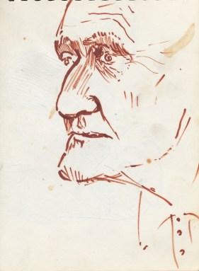 182 pestalozzi sketches - groundsman
