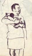 222 pestalozzi sketches - african lady
