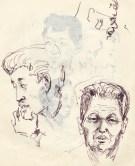 243 pestalozzi sketches - tibetans