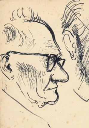 277 Pestalozzi sketches - Groundsman
