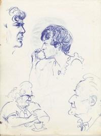 334 Pestalozzi sketches - elevenses