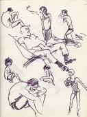 337b Pestalozzi sketches - hastings beach 3
