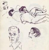 338 Pestalozzi sketches - boys