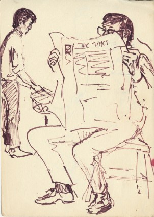 86 pestalozz sketches - jigme and david