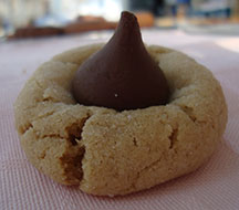 Picture of Peanut Blossom Cookie