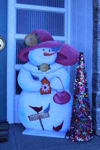 #snowlady