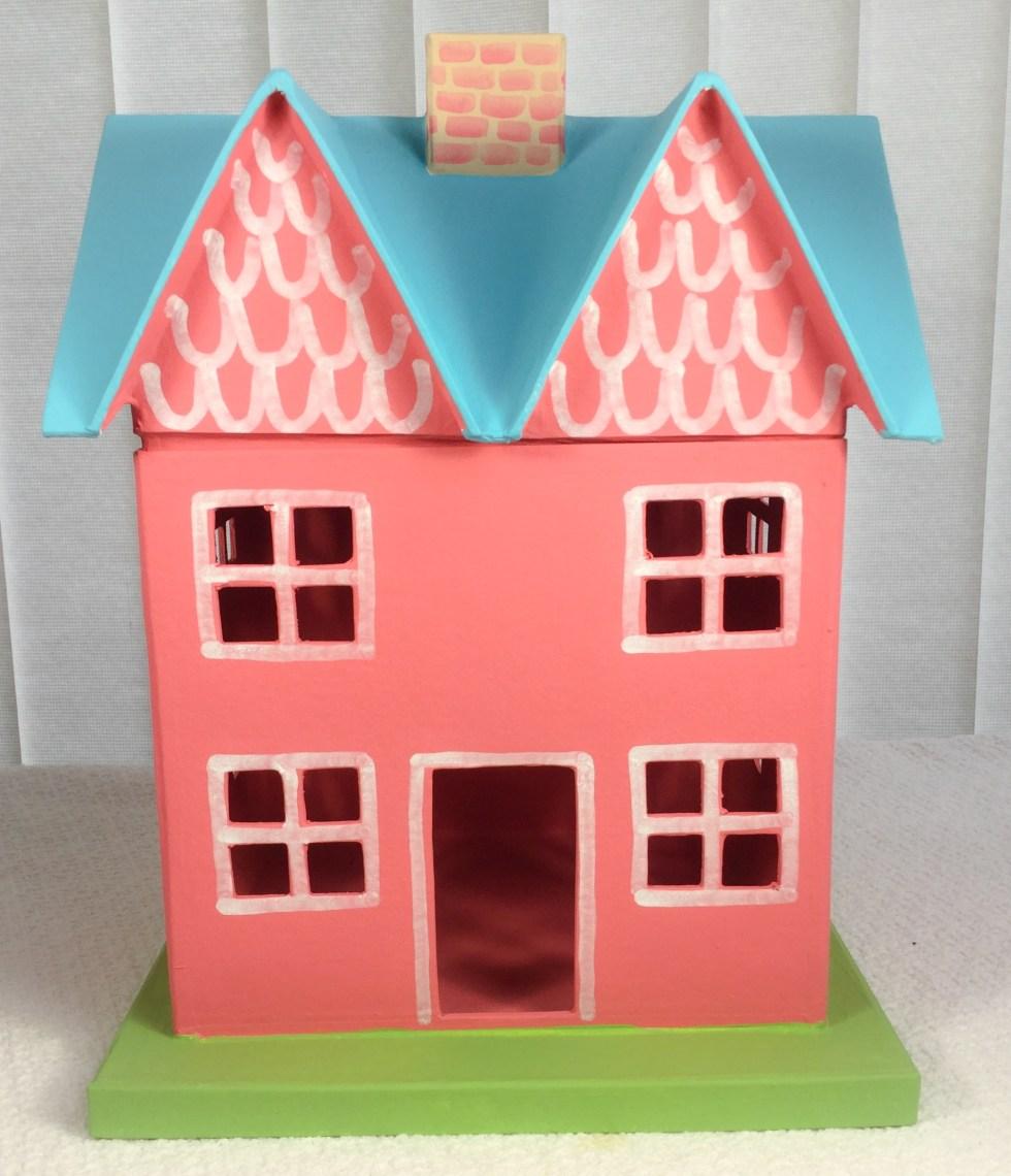 Spring Glitter Houses – Jane Allen Creates
