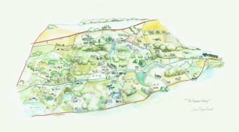 The Nadder Valley Map