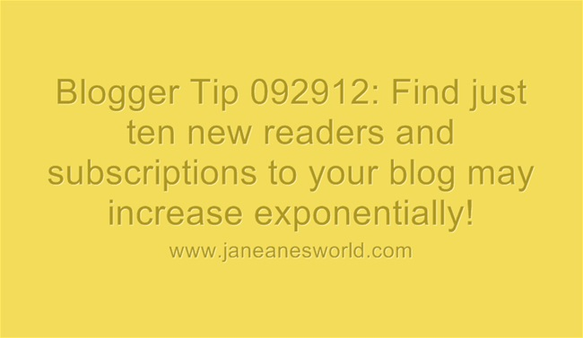 www.janeanesworld.com ten readers can lead to increase