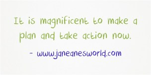 spring into action now www.janeanesworl.com