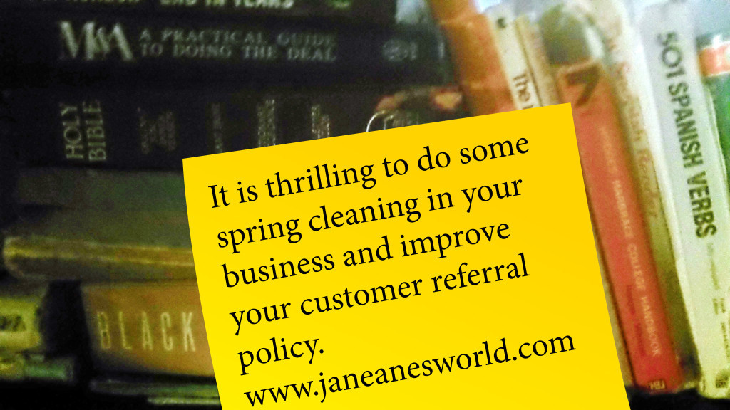 thrilling Thursday, customer referral policy, referral letter, loyalty program, customer loyalty