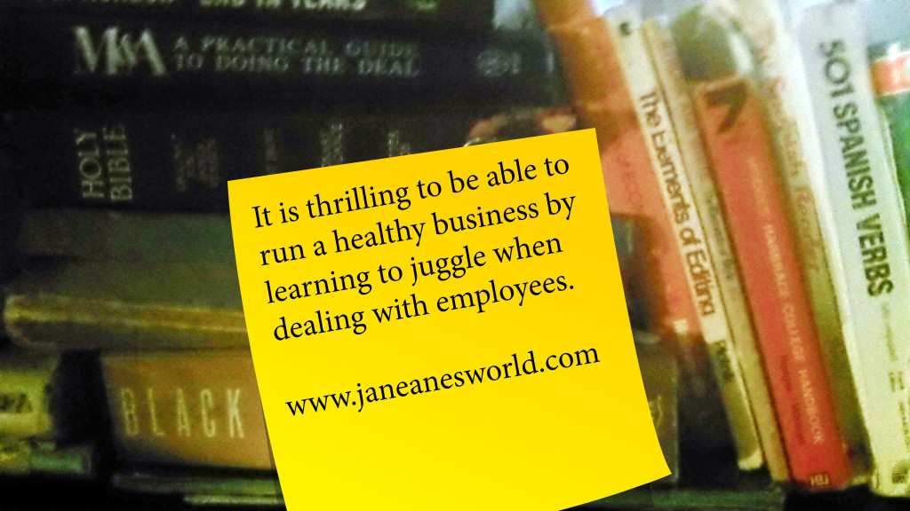 thrilling Thursday, employees, juggle, entrepreneurs, dealing with employees