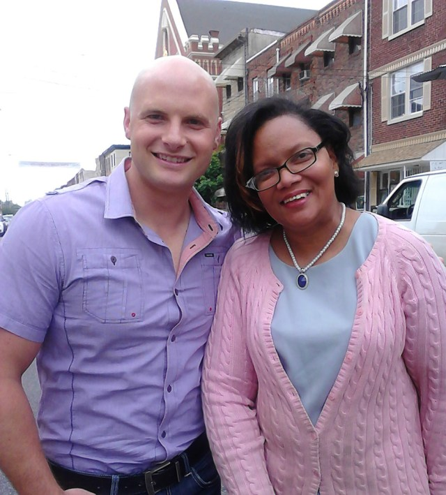 Photo with Chip Wade of HGTV. He is such a nice man!