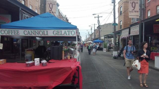 May 18, 2013 View of the Italian Festival at Philadelphia's Italian Market