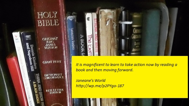 learn, take action now, read