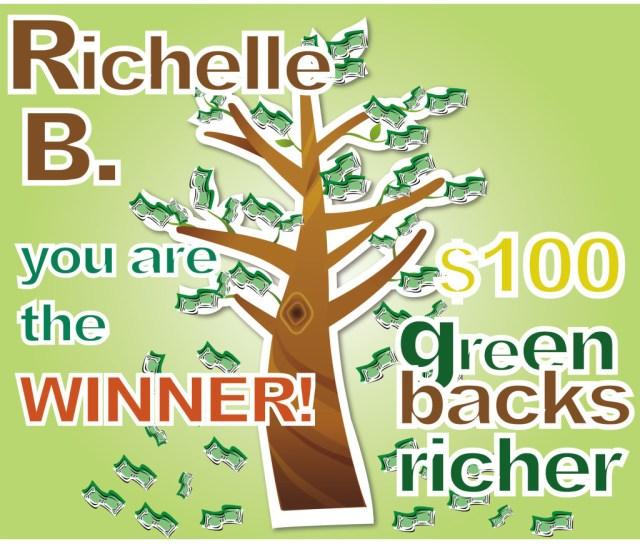 111413 giveaway MoneyTreeWinner