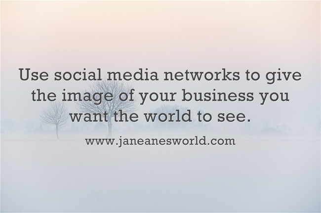 www.janeanesworld.com use social media for business image