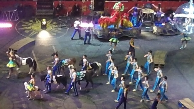 3 #spon ringling brothers preview parade