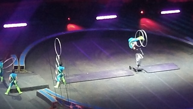 9 #spon ringling brothers acrobats and rings