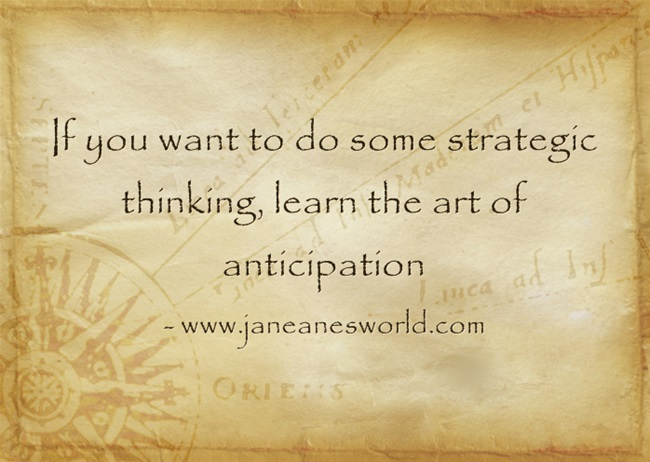 a to z challenge basics strategic thinking www.janeanesworld.com