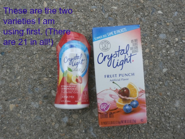 two flavors Crystal Light www.janeanesworld.com
