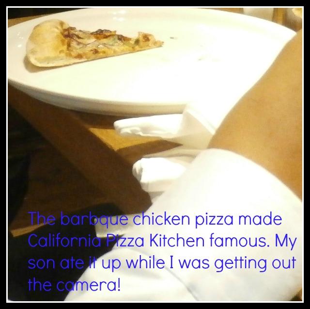 bbq chiken pizza cpk www.janeanesworld.com