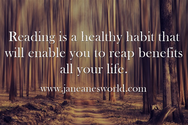 Reading-is-a-healthy www.janeanesworld.com