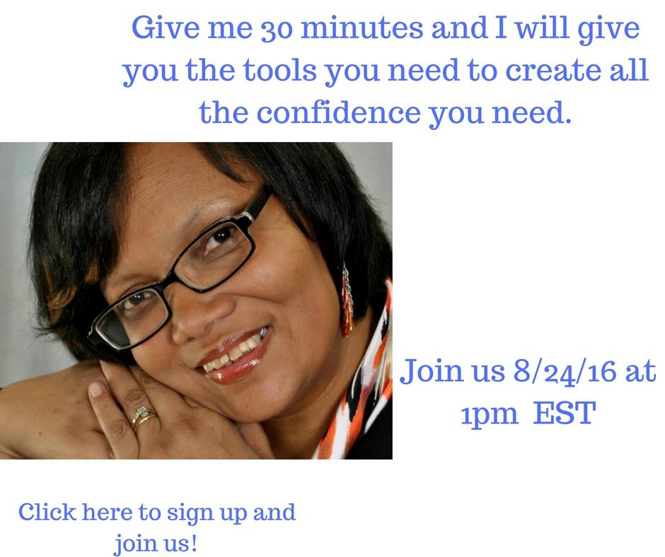 confidence webinar sign up