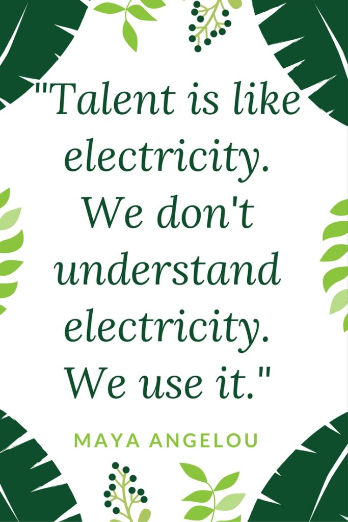 is like electricity - use it