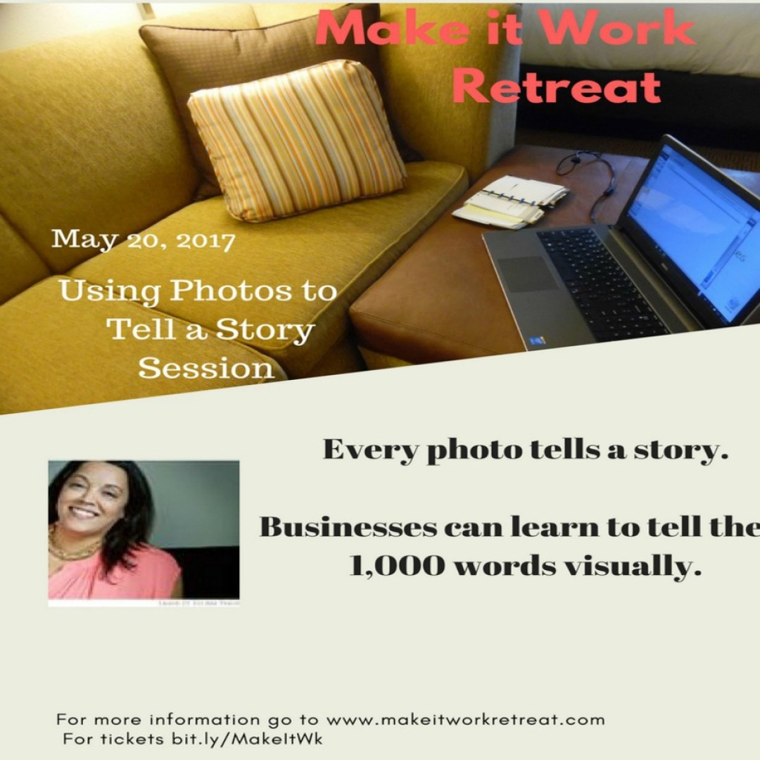 using photos to tell a story