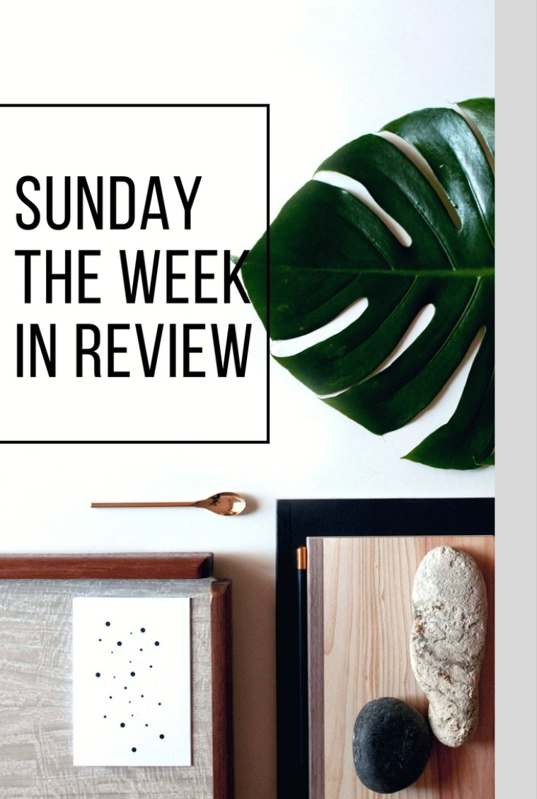 Sunday the Week In Review