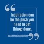 Inspiration can be the push you need to get things done.
