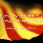 If you want to succeed at work start respecting those in authority.