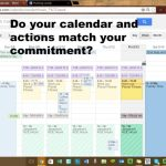 does your calendar match your commitment