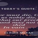 picture background for text Claude Mckay If we must die