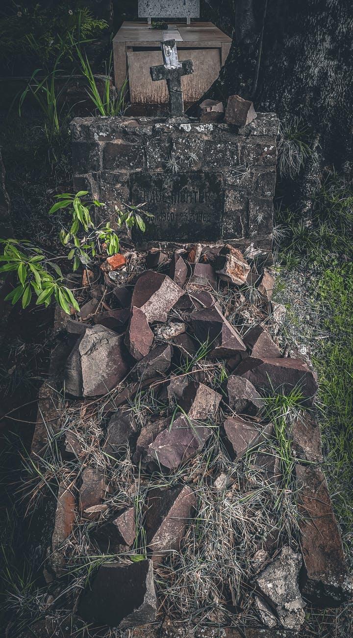 a burial ground