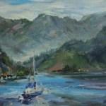 Deep Cove - Plein Air, 11x14, Oil on Board, Filmed
