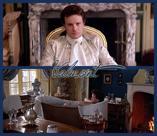 Colin Firth, em Valmont, 1989