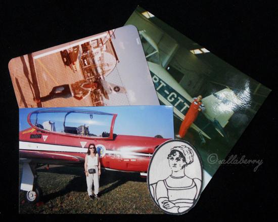 Aviação, Raquel e Jane Austen