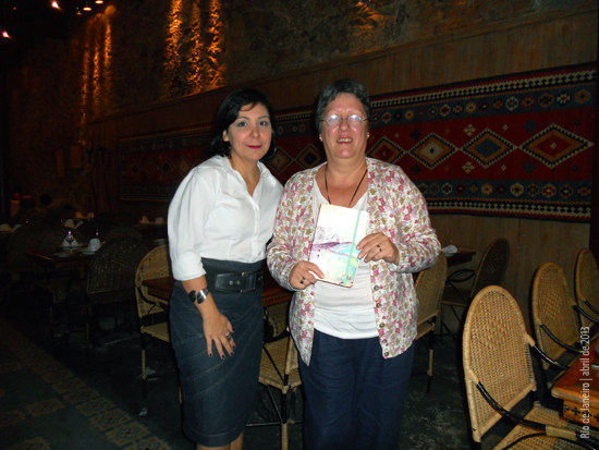 Marcia Caetano e Raquel Sallaberry Brião