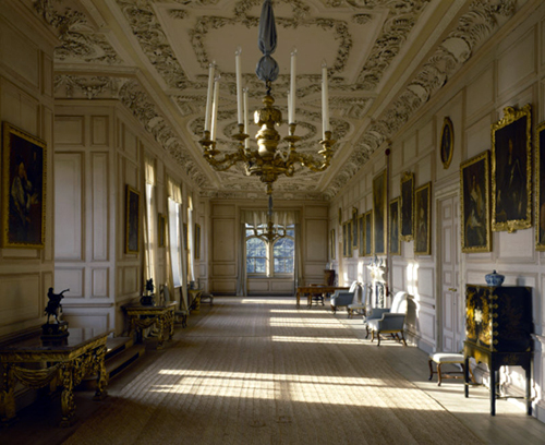 Long Gallery, Sudbury Hall, Derbyshire