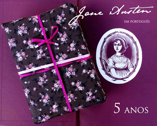 Jane Austen em Português, 5 anos
