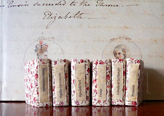 Coleção Jane Austen, mini livros