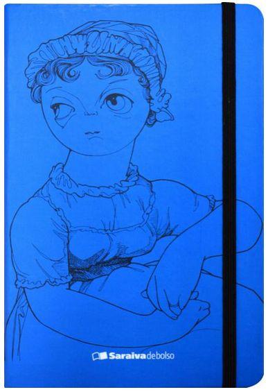 Caderneta Jane Austen Saraiva de Bolso