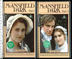 Mansfield Park 1983 VHS
